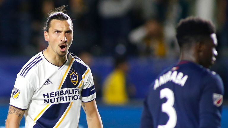 Zlatan Ibrahimovic has scored 46 goals in 49 appearances for LA Galaxy