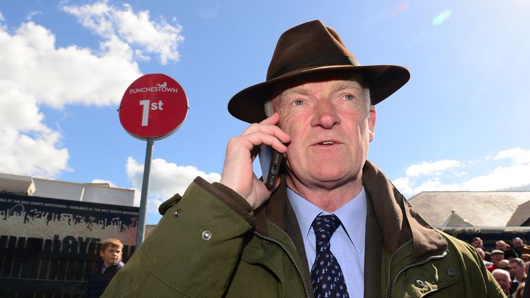 Trainer Willie Mullins - aiming Cabaret Queen at Newbury