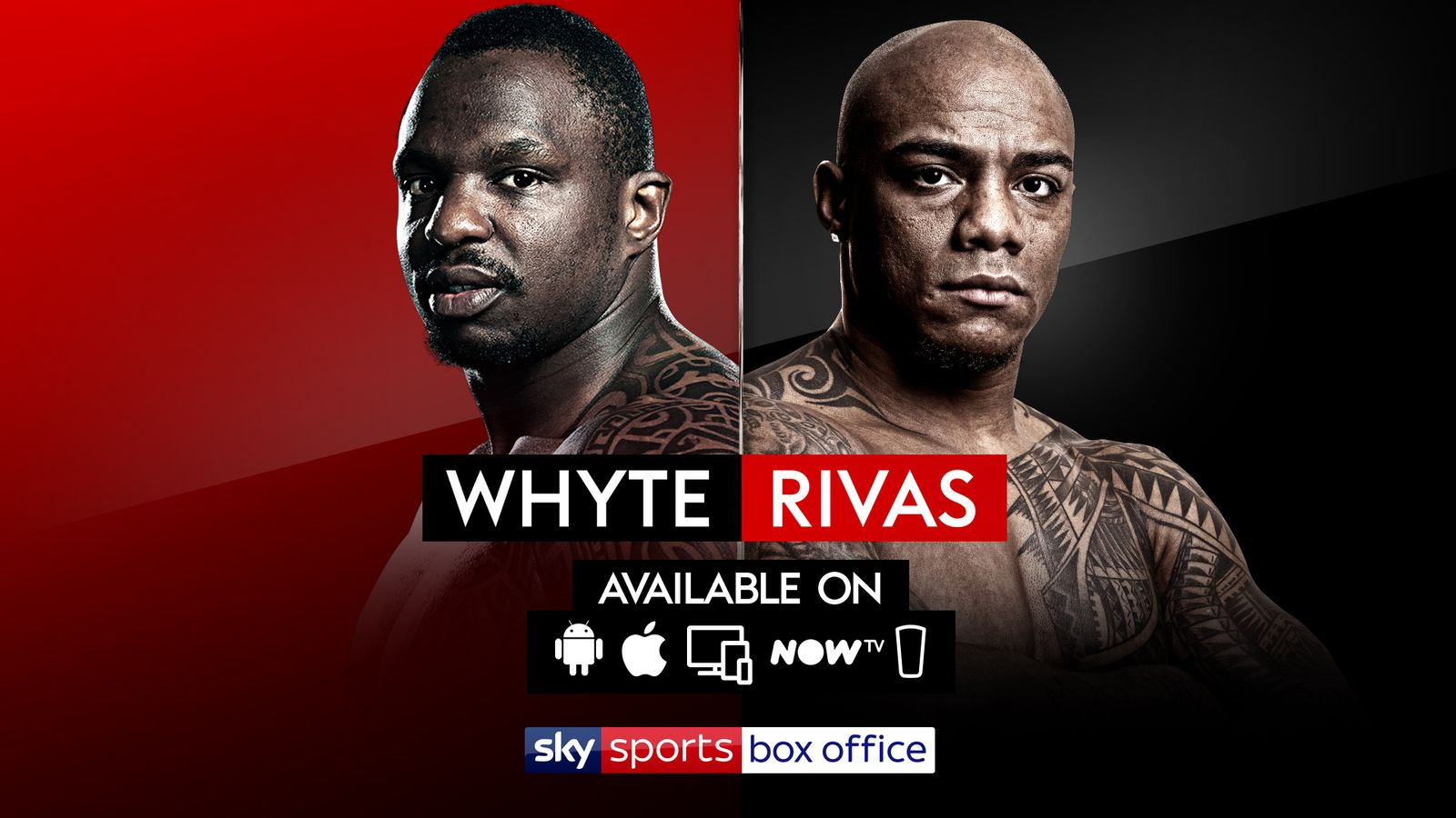 whyte vs rivas: here's how to book and watch if you are not a sky tv  subscriber | boxing news | sky sports