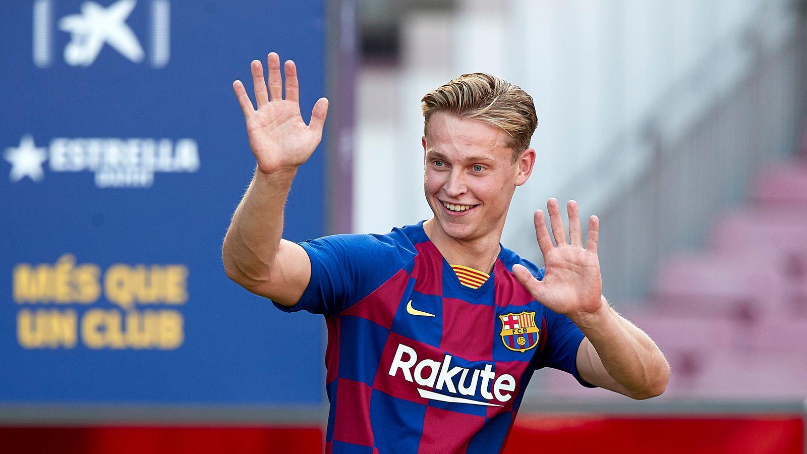 De Jong Barca