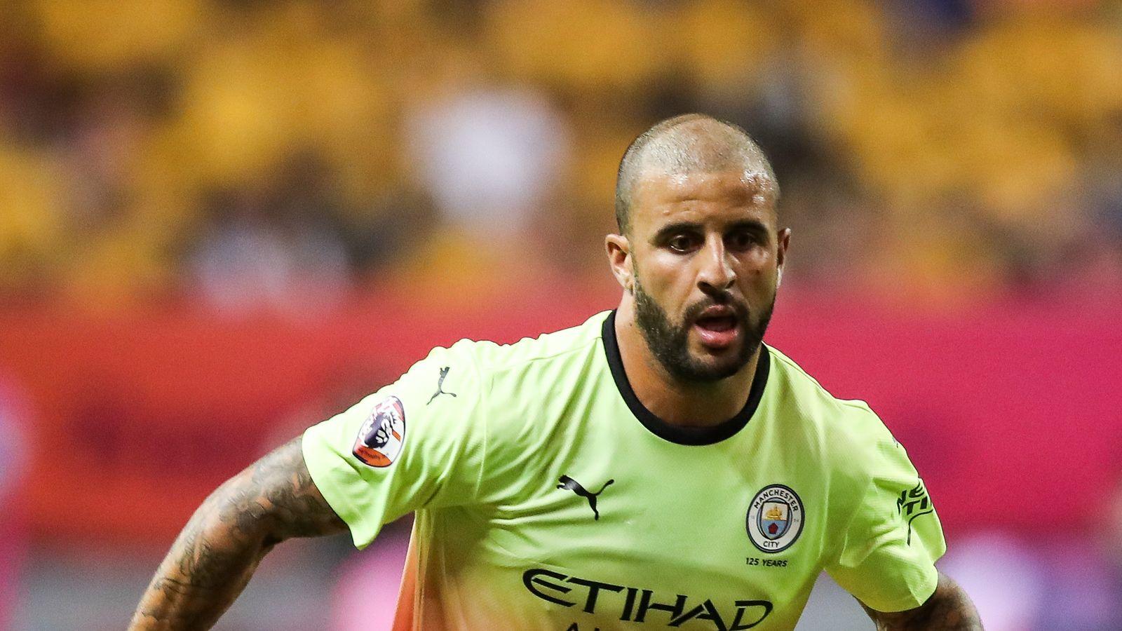 Kyle Walker targets Manchester City Champions League ...