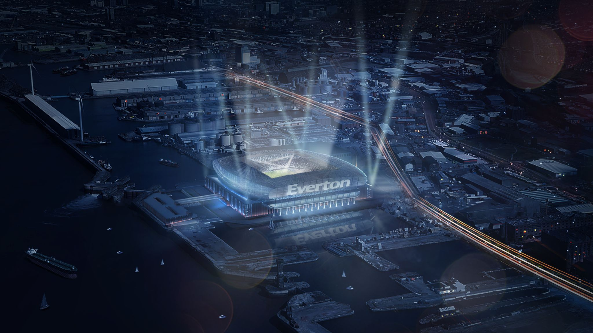 Everton set for new stadium planning submission for Bramley-Moore Dock ground
