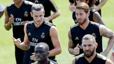 fifa live scores - Gareth Bale mocked in Real Madrid training as Mariano does golf swing