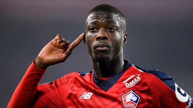 Nicolas Pepe joined Arsenal from Lille