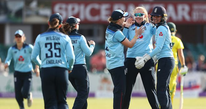 Katherine Brunt plays her 200th ODI match for England
