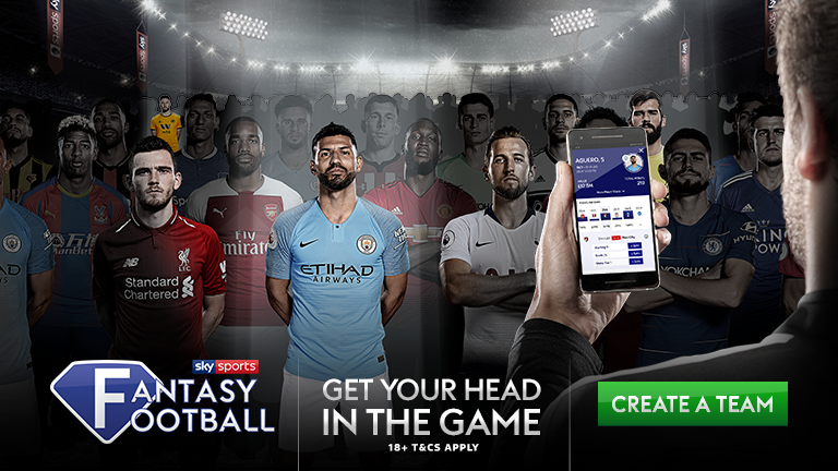 Get your head in the game with Sky Sports Fantasy Football
