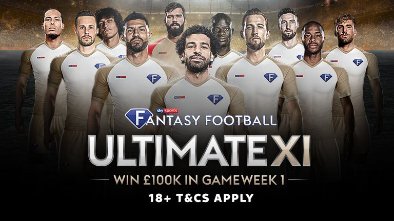 Play Sky Sports Ultimate XI Fantasy Football for the chance to win £100,000!