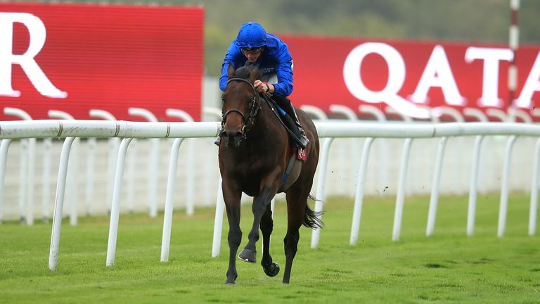 Goffs Vincent O'Brien National Stakes report: Pinatubo puts in stunning performance