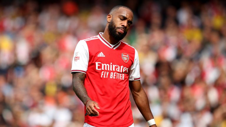 Alexandre Lacazette suffered an ankle injury in a pre-season friendly against Lyon