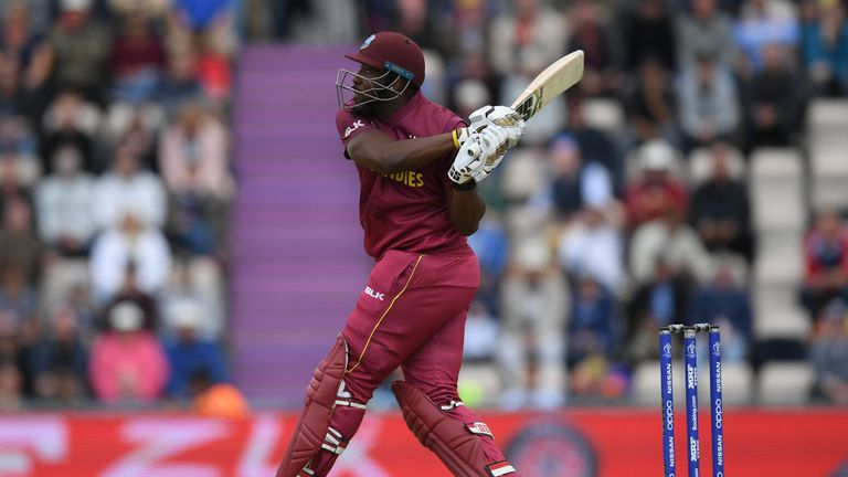 Andre Russell is the fastest to 1,000 ODI runs