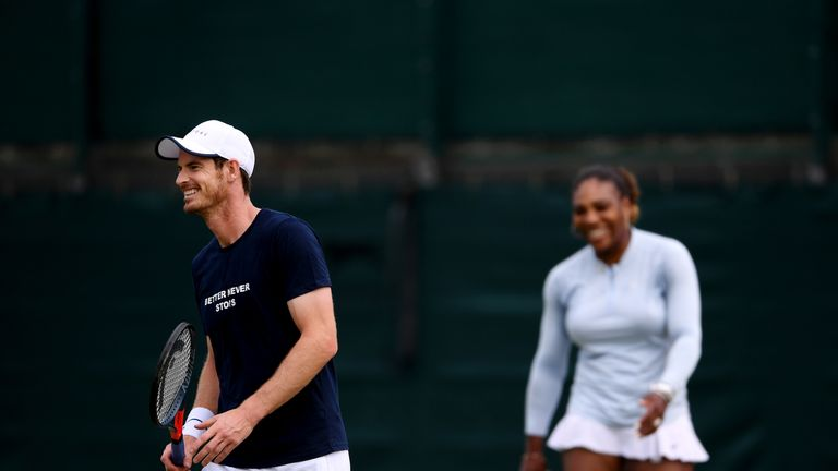 Can Andy Murray and Serena Williams form a winning partnership?