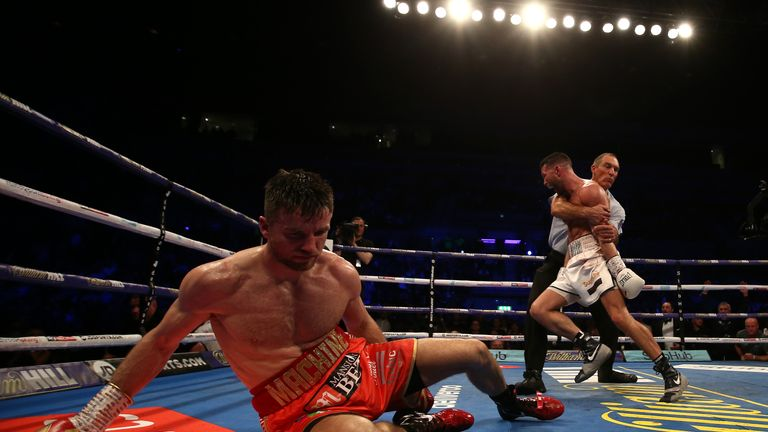 Fowler was floored and lost on points