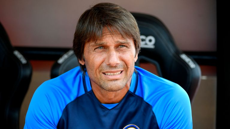 Antonio Conte took over at Inter this summer