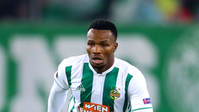 Boli Bolingoli-Mbombo has joined Celtic from Rapid Vienna