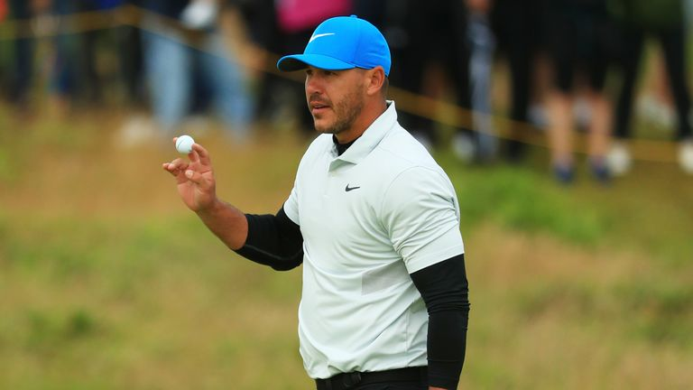 Koepka has posted top-five finishes in the last five majors, winning two of them