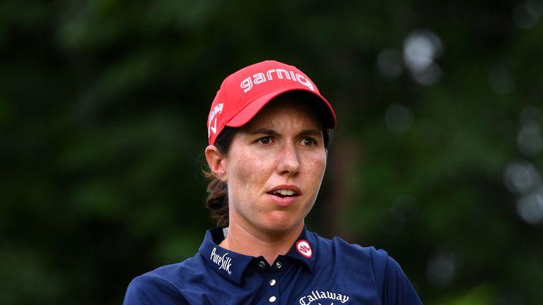 Carlota Ciganda finished with a flourish