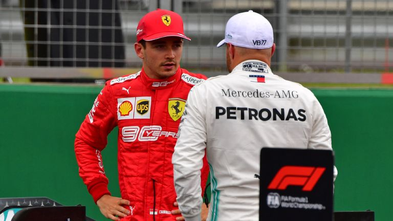 British GP: Charles Leclerc hopes strategy allows him to fight Mercedes