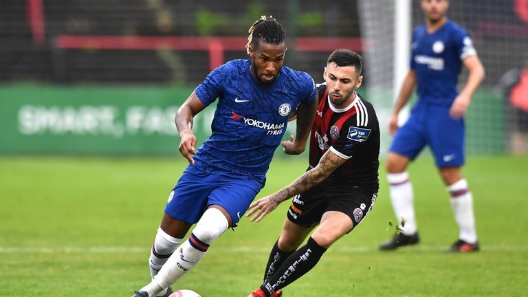Chelsea were held to a draw by Bohemians in their first pre-season friendly on Wednesday night