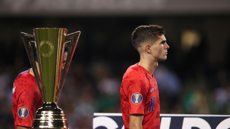 Christian Pulisic won Best Young Player at the 2019 CONCACAF Gold Cup