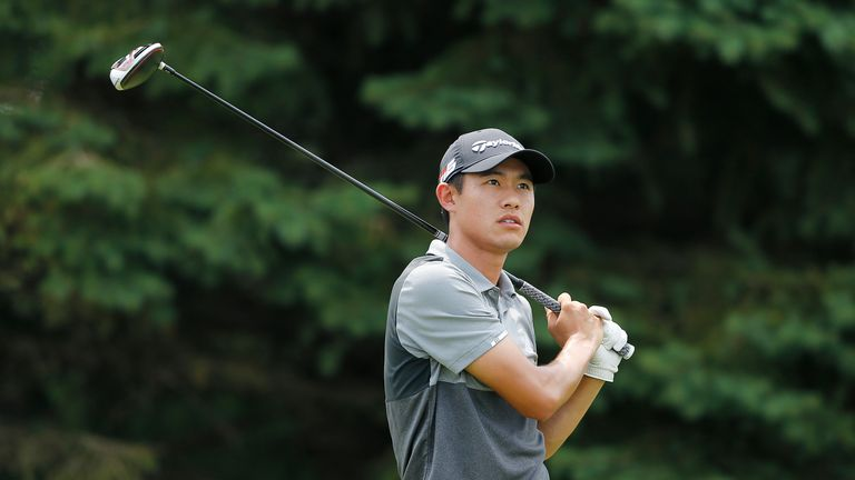 Collin Morikawa was a whisker away from forcing extra holes