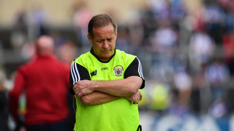 Colm Collins' side bow out of the championship