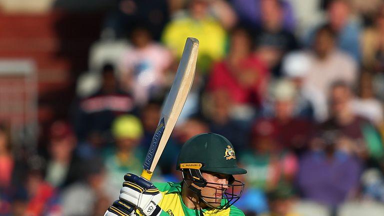 Alex Carey is Australia's wicket-keeper