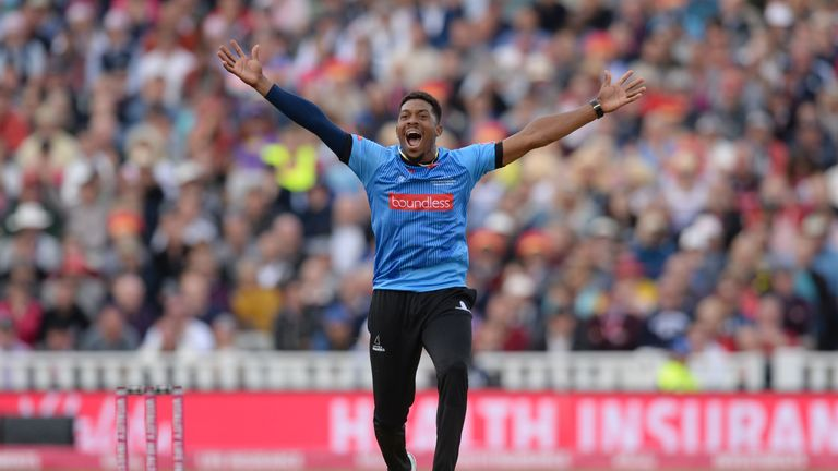 Chris Jordan is aiming to help Sussex Sharks to Finals Day again