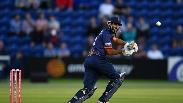 Varun Chopra hammered 26 sixes during Essex's Blast campaign two years ago