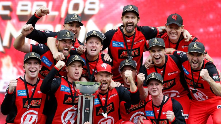 McDonald led the Melbourne Renegades to the Big Bash title this year