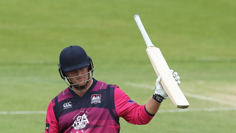 Richard Levi, is one of four players to hit a T20 century for Northamptonshire