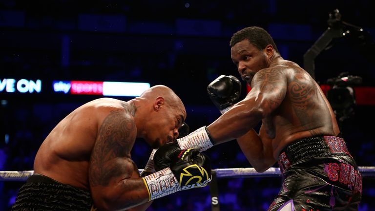 Whyte defeated Rivas in a WBC final eliminator at The O2