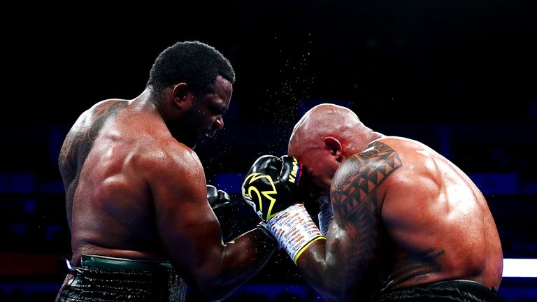 Whyte outpointed Rivas in his most recent fight