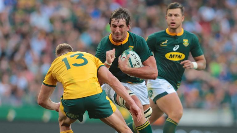 South Africa 35 - 17 Australia - Match Report & Highlights