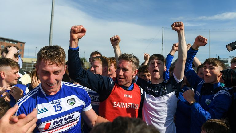 Eddie Brennan's first year with Laois has been a huge success
