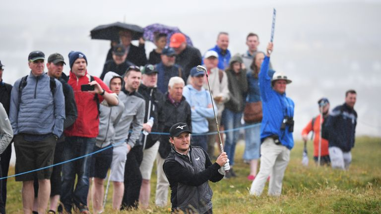 Pepperell finished tied-second at the British Masters earlier this season
