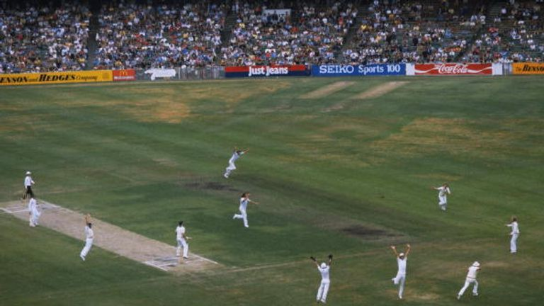 The 1982 Ashes Test at Melbourne saw the closest of finishes