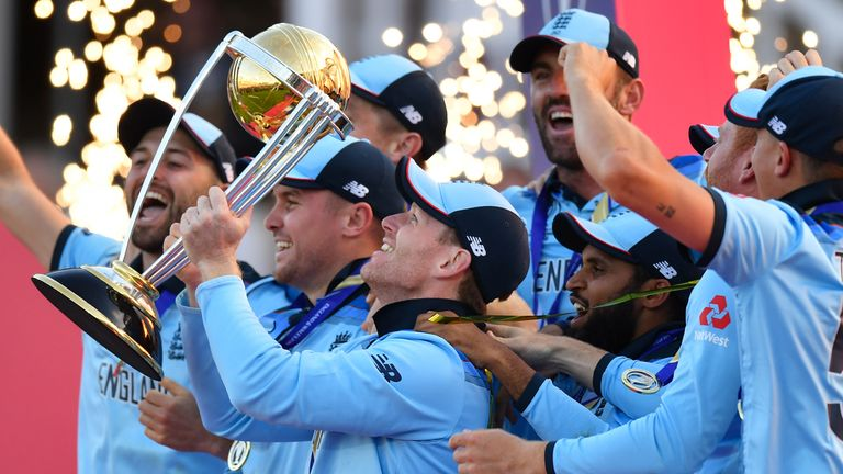 England won the Cricket World Cup a year ago