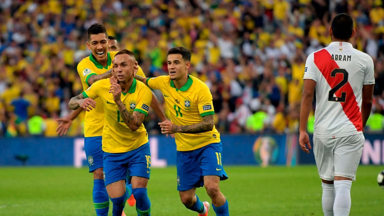 Brazil 3 - 1 Peru - Match Report & Highlights