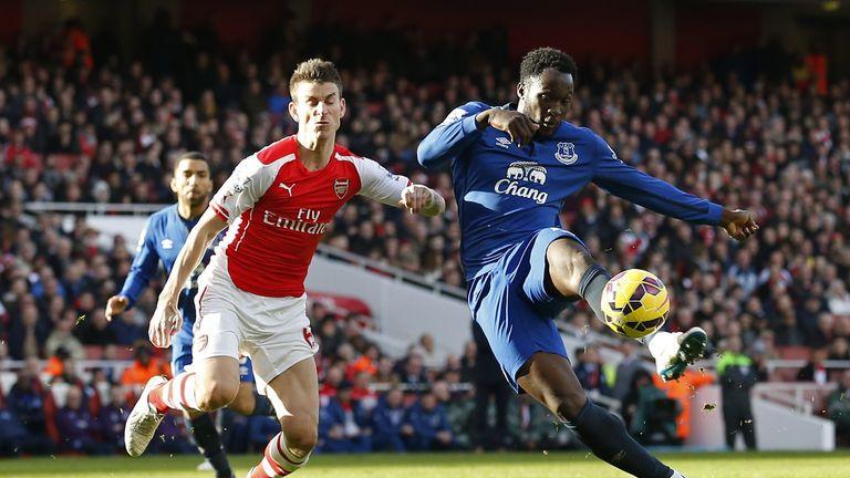 Romelu Lukaku spent three seasons with Everton