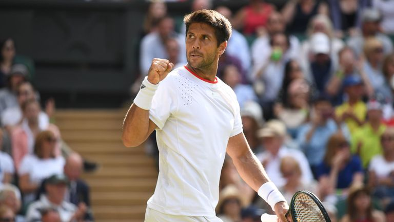 Verdasco battled back from the brink of defeat to reach the third round at Wimbledon