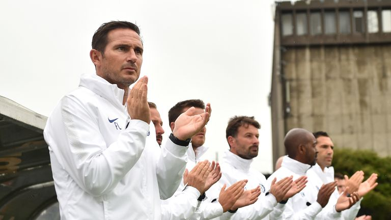 The match was Lampard's first as manager of the Blues