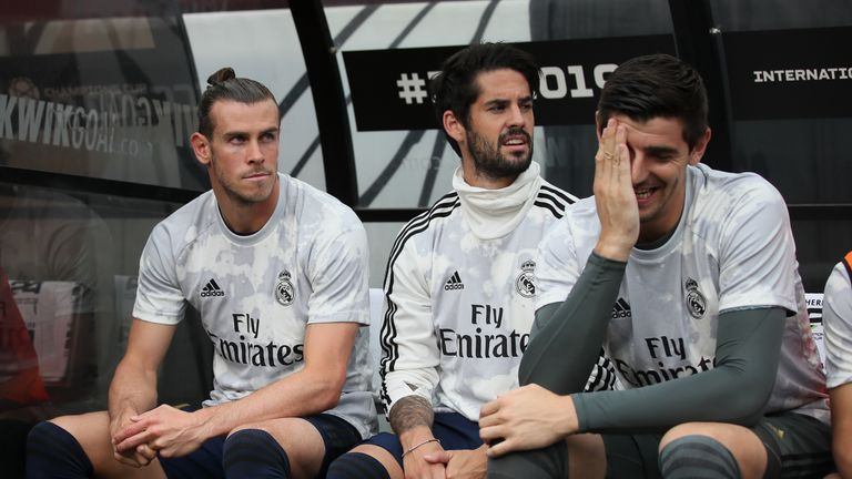 Bayern are reportedly interested in Real forward Gareth Bale