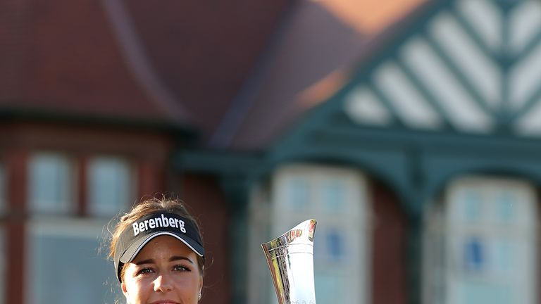 Georgia Hall is defending champion at the Women's British Open