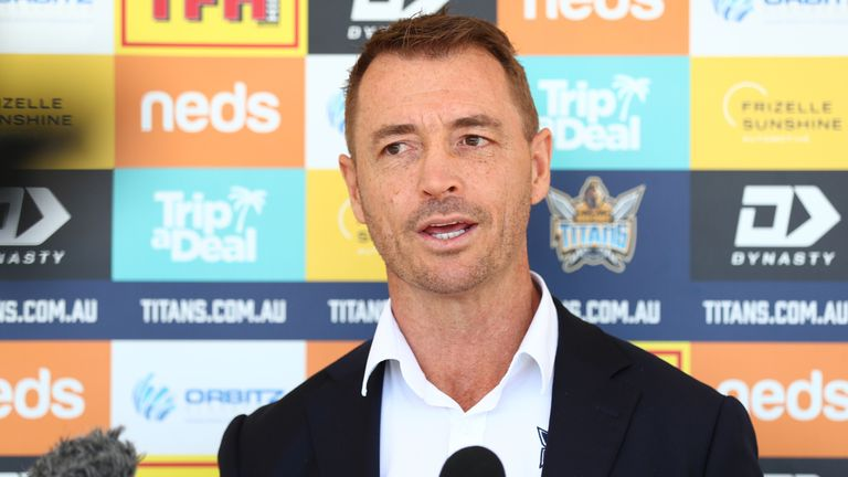 Gold Coast CEO Steve Mitchell praised Justin Holbrook's work at St Helens