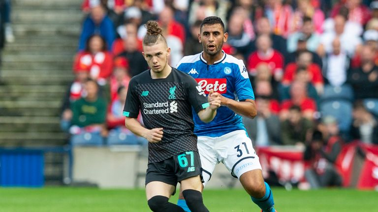 Harvey Elliott joined Liverpool after his Fulham contract expired in June