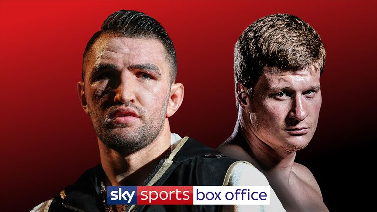Hughie Fury's heavyweight showdown with Alexander Povetkin is on a packed bill