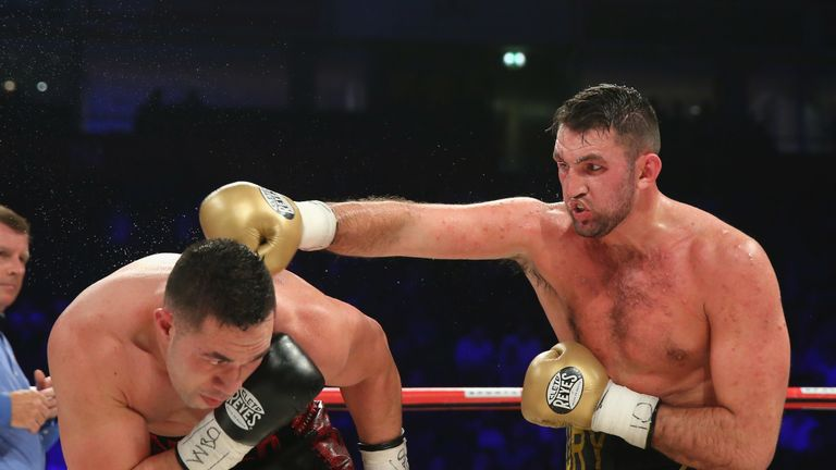 Fury lost a majority decision to Parker