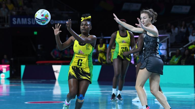 Jamaica are the top-rated side in Group C at the Netball World Cup