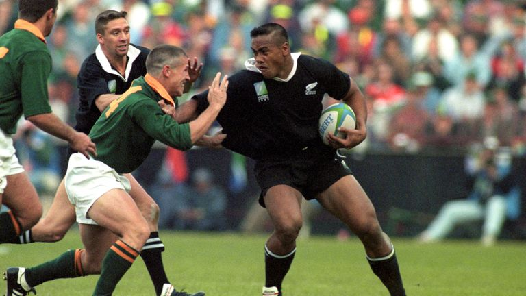 Small marked Jonah Lomu in the World Cup final