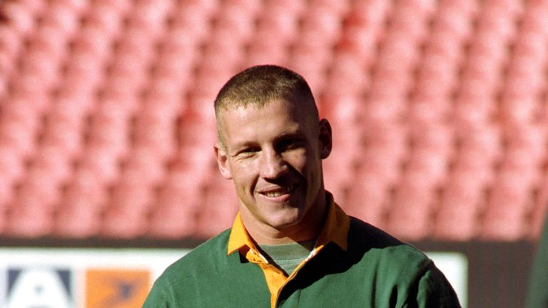 James Small was a World Cup winner with the Springboks in 1995